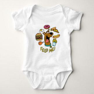 Scooby-Doo Feed Me! Baby Bodysuit