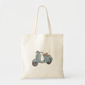 Scooter Budget Tote Bag