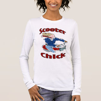 Scooter Chick Long Sleeve T-Shirt
