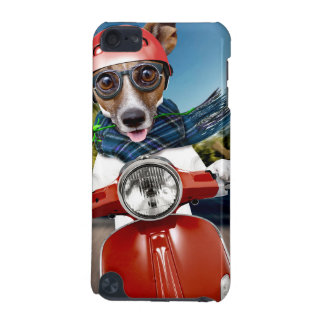Scooter dog ,jack russell iPod touch (5th generation) case