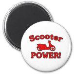 Scooter POWER! Refrigerator Magnet