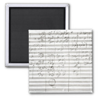 Score for the 3rd Movement of the 5th Symphony Magnet