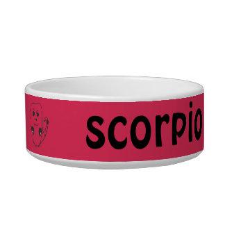 Scorpio Cat Bowl