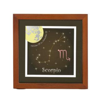 Scorpio October 24 tons November of 22 pin owners Desk Organiser
