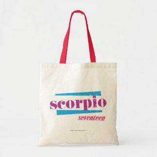 Scorpio Purple Tote Bag