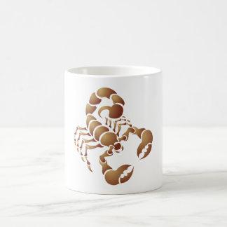 Scorpio scorpion coffee mug