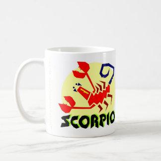 Scorpio Zodiac Sign Coffee Mug