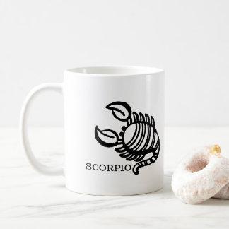 Scorpio Zodiac Vintage Scorpion Horoscope Coffee Mug