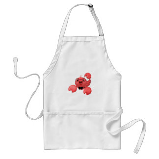 Scorpion Image cute with glasses Standard Apron