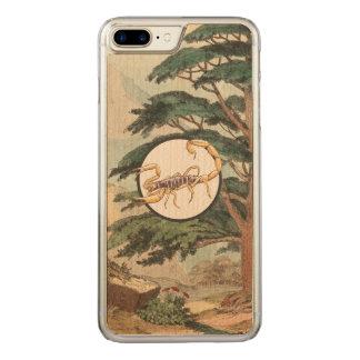 Scorpion In Natural Habitat Illustration Carved iPhone 7 Plus Case