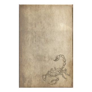 Scorpion Stationery