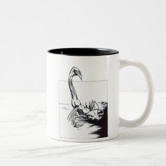 Scorpion Two-Tone Coffee Mug