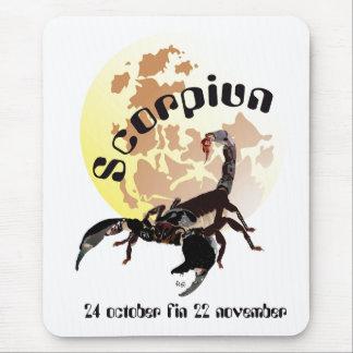 Scorpiun 24 more october fin 22 November mouse PAD