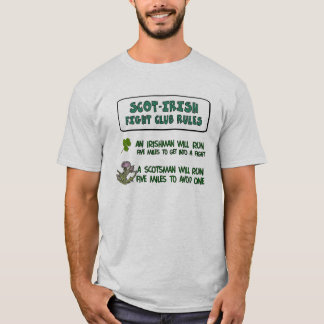 Scot Irish Fight Club T-Shirt