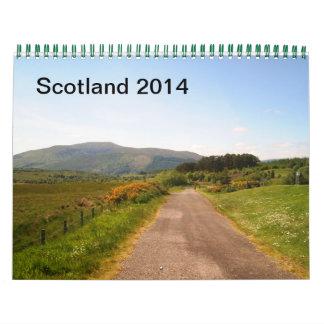 Scotland 2014 calendars