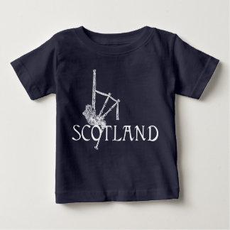Scotland Bagpipes, Scottish Design Baby T-Shirt