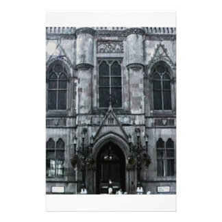 Scotland Inverness Building Art1 snap-41158  jGibn Personalized Stationery