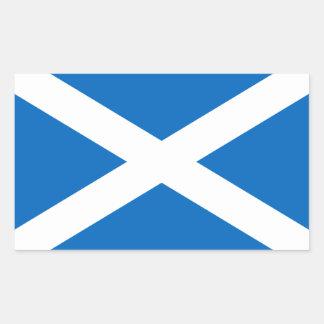 Scotland/Scottish Flag - United Kingdom Rectangular Sticker