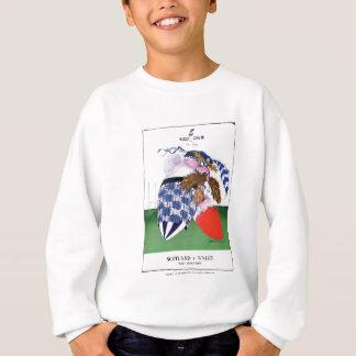 scotland v wales rugby balls tony fernandes sweatshirt