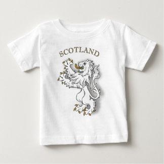 Scotland white lion baby T-Shirt