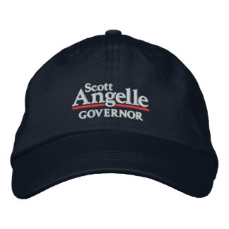 Scott Angelle Hat Embroidered Cap