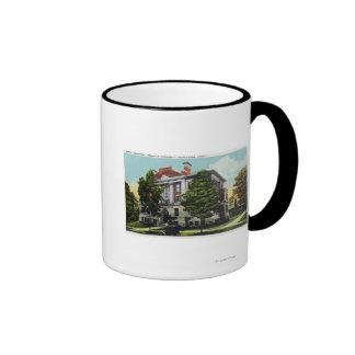 Scott Laboratory of Wesleyan University Ringer Mug