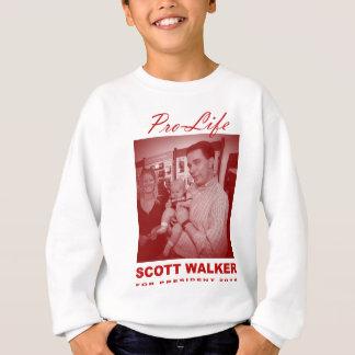 Scott Walker: Pro-Life Sweatshirt