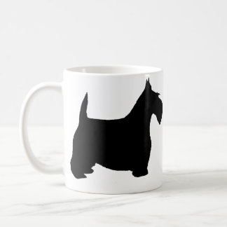 Scottie Dog Basic White Mug