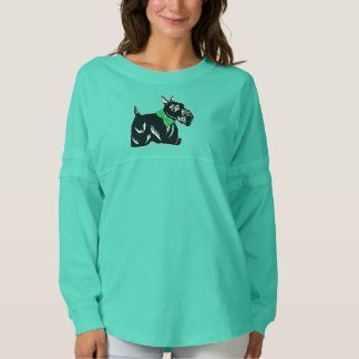 Scottie Dog Women's Spirit Jersey Shirt