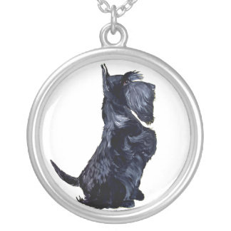 Scottie - Got Cookies? Silver Plated Necklace