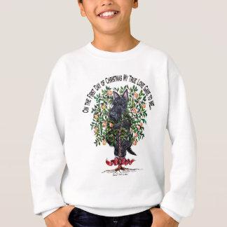 Scottie in a Pear Tree Sweatshirt