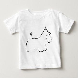 Scottie Lines Baby T-Shirt