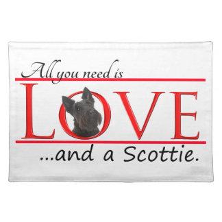 Scottie Love Placemat