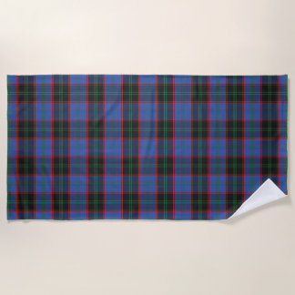 Scottish Accents Clan Home Hume Tartan Beach Towel