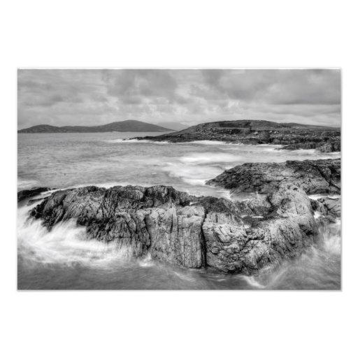 Scottish Atlantic Coast Photo Print