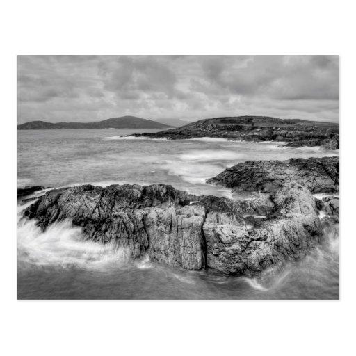 Scottish Atlantic Coast Postcard