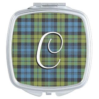 Scottish Beauty Campbell Family Tartan Plaid Makeup Mirror