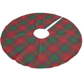 Scottish Clan Chisholm Tartan Brushed Polyester Tree Skirt