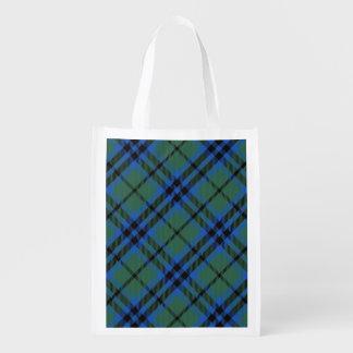 Scottish Clan Keith Family Tartan Reusable Grocery Bag