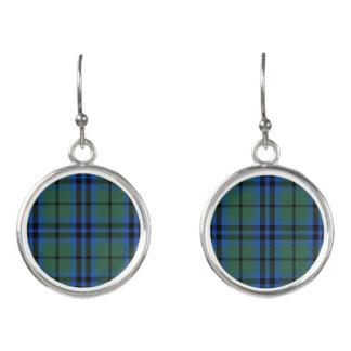 Scottish Clan Keith Tartan Plaid Earrings