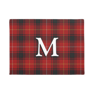 Scottish Clan MacIver Tartan Doormat