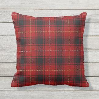 Scottish Clan MacIver Tartan Throw Pillow