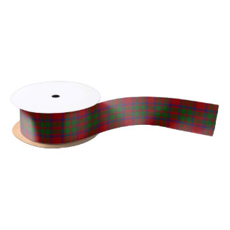 Scottish Clan MacKintosh McIntosh Classic Tartan Satin Ribbon