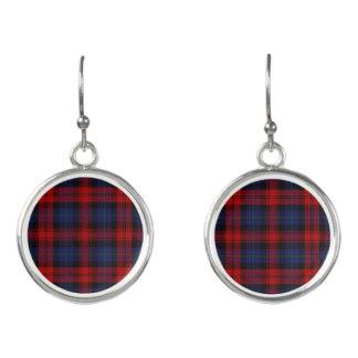 Scottish Clan MacLachlan Tartan Plaid Earrings
