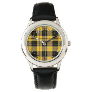 Scottish Clan MacLeod Family Tartan Plaid Wristwatch