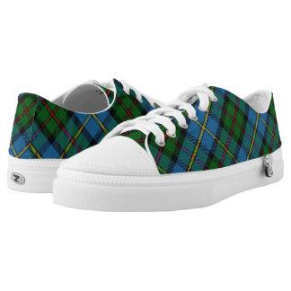Scottish Clan MacLeod of Harris & Dunvegan Tartan Printed Shoes