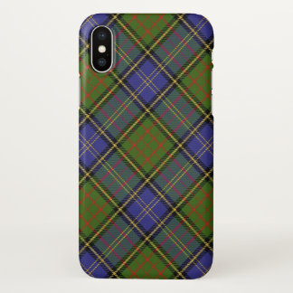Scottish Clan MacMillan Hunting Tartan Plaid iPhone X Case