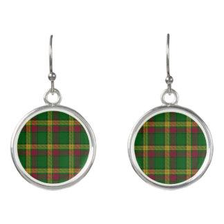 Scottish Clan MacMillan McMillan Tartan Plaid Earrings