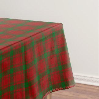 Scottish Clan MacQuarrie Tartan Tablecloth