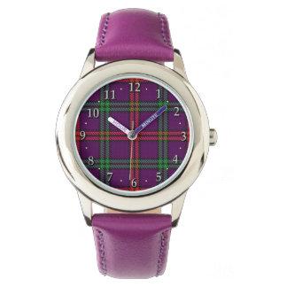 Scottish Clan Montgomery Family Tartan Plaid Watches